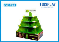 Cosmetic Promotion Cardboard Pallet Display / Pallet Display Stands Easy Installation
