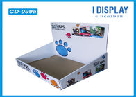 Eye Catching Custom Cardboard Counter Displays / Cardboard Table Display Stands
